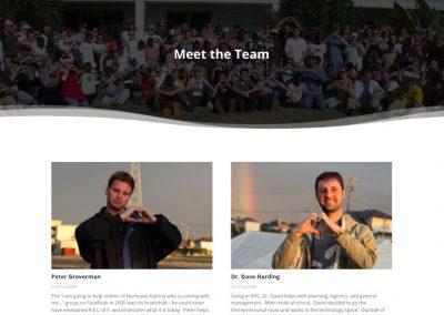 RELIEF - Meet the Team