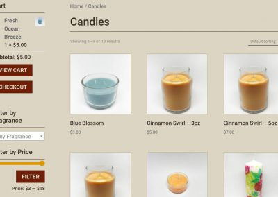 Dolce Candle - Shop